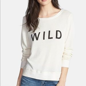 Wildfox 'Wild' Knit Beach Sweater